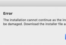 Adobe 安装包安装提示Error的解决办法